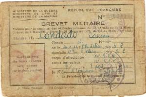 brevet militaire
