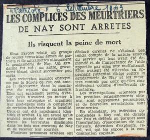 vign_quatre-articles-relatant-l-attaque-de-la-gendarmerie-de-nay_img