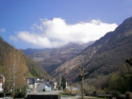 Sarrance village